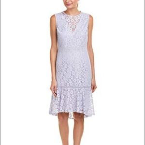 Nanette Lepore Lace Shift Dress in Iris Bliss